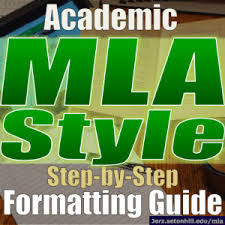 mla style how to write an essay using mla format