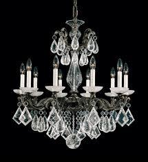 schonbek 5474 22 la scala 27 5 inch heirloom gold rock crystal chandelier undefined