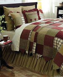 French Country Patchwork Quilted Bedspread Set Oversize King To ... & ... Country Bedding Quilts French Country Quilt Bedding Sets New Heartland  Quilted Patchwork Bedding Set By Vhc ... Adamdwight.com