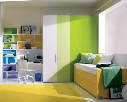 Double Color Wardrobe Designs For Kid Bedroom Decorating Ideas With  Decorative Wall Shelves