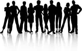 group of people clipart black and white. Plain People Inside Group Of People Clipart Black And White I