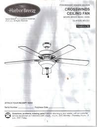 harbor breeze crosswinds wiring diagram harbor discover your harbor breeze crosswinds ceiling fan instruction installation