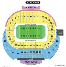 Autzen Stadium Seating Chart View Bell Center Seat Online Charts Collection
