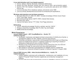 How To Write Engineering Resume Image Of Network Engineer Sample An