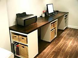 Make your own computer desk Custom Office Workspace Build Your Own Office Desk With Oak Dantescatalogscom Office Workspace Build Your Own Office Desk With Oak Home Office