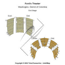 Fords Theatre Tickets In Washington District Of Columbia