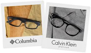 with new frames from calvin klein columbia