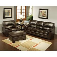 abbyson living charlotte dark brown sectional sofa and ottoman you