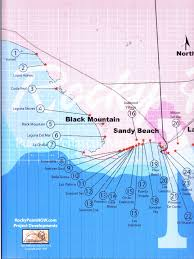 rocky point area map of puerto penasco mexico, maps of sandy beach Las Conchas Section Map westside area map of puerto penasco Las Conchas Rocky Point