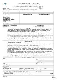 gi form tokio marine proposal form private motor car revised ver apr 09