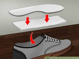image titled stop your shoes from squeaking step 2