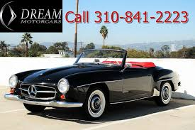 23 vehicles matched now showing page 1 of 2. 1959 Used Mercedes Benz 190sl At Dream Motor Cars Serving Los Angeles Santa Monica Ca Iid 11615290