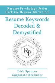 Resume Keywords Extraordinary Amazon Resume Keywords Decoded Demystified Hack The Resume