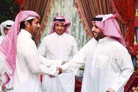 جريدة الرياض | آل الشيخ يحضر عشاء البلطان ويلتقي رؤساء الممتاز