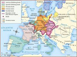 readings in the military history of the thirty years war  map of 30 years war 1
