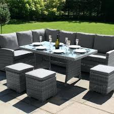 patio furniture grey maze rattan garden furniture grey corner dining set patio furniture covers grey