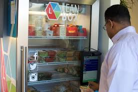 Healthy Vending Machine Companies Delectable The Future Of Lunch Healthy Vending Machines The Food Rush