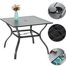 37 outdoor patio dining table garden
