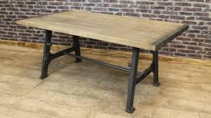 industrial style outdoor furniture. Exquisite Industrial Style Dining Tables In INDUSTRIAL STYLE TABLE WITH CAST IRON BASE And OAK TOP URBAN Outdoor Furniture Y