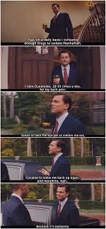 The Wolf Of Wall Street 2013 Leonardo Dicaprio List Drugs He