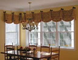 Kitchen Curtains With Grapes Mesmerizing Bay Window Drapes Pictures Pics Inspiration Kitchen