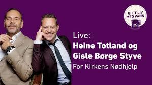 Listen to music by heine totland on apple music. Live Heine Totland Og Gisle Borge Styve For Kirkens Nodhjelp Kirkens Nodhjelp