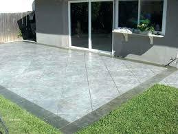 concrete slab patio. Concrete Slab Patio Ideas Incredible Backyard Floor Covering Design Neibo Co Throughout 9