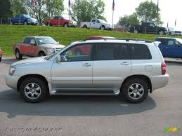 2004 Toyota Highlander Limited V6 4WD in Millenium Silver Metallic ...