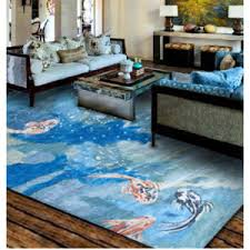 coastal themed area rugs. exellent themed koi_fish_rug intended coastal themed area rugs s