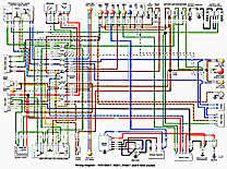 late 70s bmw motorcycle ephemera 78 wiring schematic r60 7 r80 7 r100 7 r100s