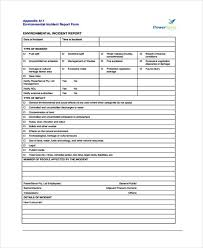 Free 40 Incident Report Form Examples Pdf