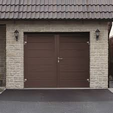 hormann nt60 m ribbed silkgrain ral colour side hinged hormann steel side hinged garage doors samson doors