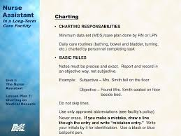 Mds Charting Examples Importance Of Accurate Charting Ppt Download