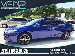 2015 toyota camry blue. 2015 toyota camry for sale at van 2 auto sales inc in siler city nc blue
