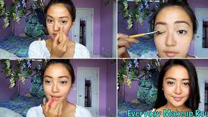 tutorial makeup wardah bb cream