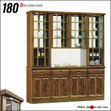 180 width double sided type kitchen cabinet domestic