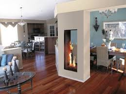 Double Sided Electric Fireplace Designs  Home Fireplaces Firepits Double Sided Electric Fireplace