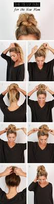 17 Best images about Hair on Pinterest Easy hairstyles Buns and.