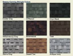 owens corning architectural shingles colors. Simple Colors Owens Corning Shingle Colors  COLOR CHART  Shingles In Architectural H