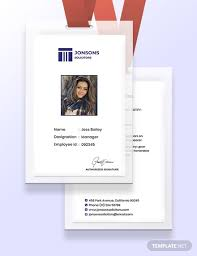 Id Cards Template Law Firm Identity Card Template