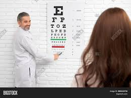 Eye Charts Used By Doctors Professional Eye Image Photo Free Trial Bigstock