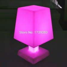 led mood lighting. remote control cordless led mood light table lamp rechargeable led lighting