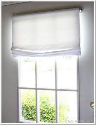 half door window blinds
