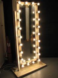 mirrors with lighting. makeup mirror with lights floor standing mirrors lighting n