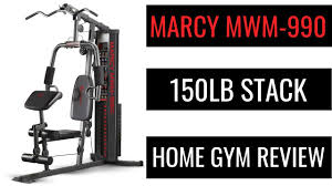 marcy mwm 990 150lb review home gym workout equipment