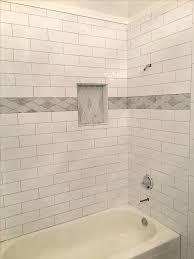 best tile for shower subway tile shower awesome best shower tubs images on tile shower niche