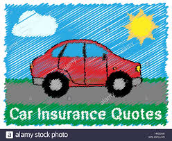 car insurance quotes road sketch means car policy 3d ilration