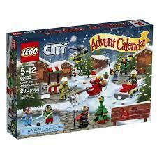 Bộ đồ chơi Lego City 60133 - Advent Calendar - Thành Phố Ngày Lễ Giáng Sinh