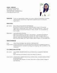 College Student Resume For Ojt 2014freerun5 Com