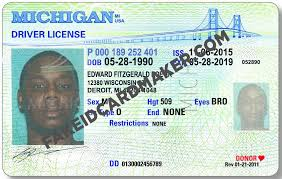Michigan Id Fake Virtual - Maker Driver Card License